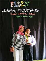 Juara Harapan II Lomba Seni Pantomim tingkat Kecamatan