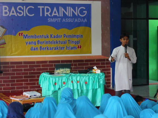 Basic Training Kelas VII Tahun Pelajaran 2019-2020